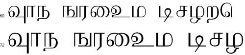 Aabohi Tamil Font