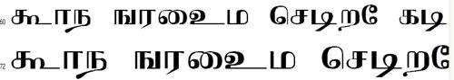 Agni Tamil Font