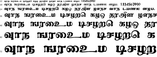 Alankaram Tamil Font