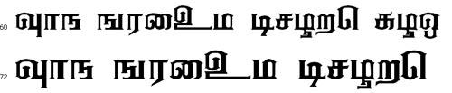 Ananthabairavi Tamil Font