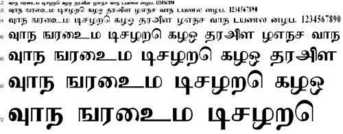Arangam Tamil Font