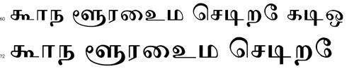 Divya Tamil Font
