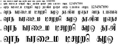 Eelamlead Tamil Font