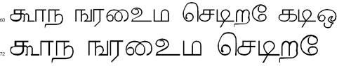 Ganesha Tamil Font