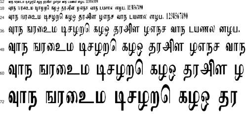 Imayam Tamil Font