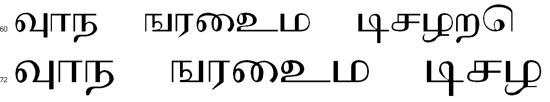 Ithayam Tamil Font