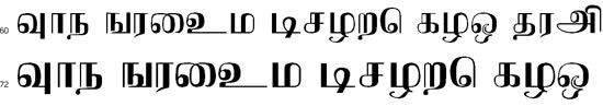 Jothy Tamil Font