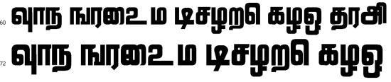 LRavi Tamil Font