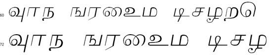 Lakshmi Tamil Font