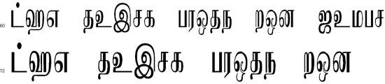 Kataragama Tamil Font