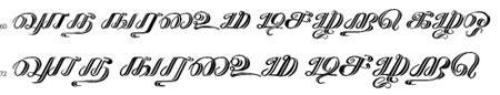 Kathanakuthugalam Tamil Font