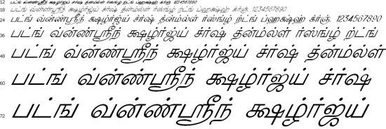 KavipPriya Tamil Font