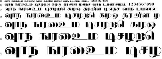 Kksblack Tamil Font
