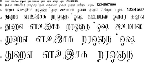 Ks_Avvaiyar Tamil Font