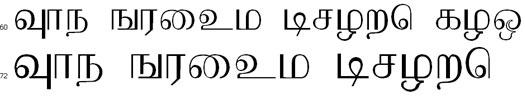 P_Ravi Tamil Font