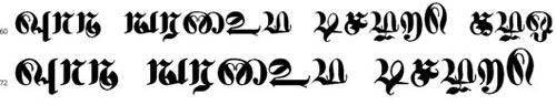 Pirunthavanam Bangla Font