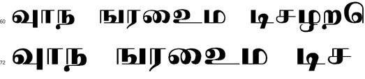 Preethi Tamil Font