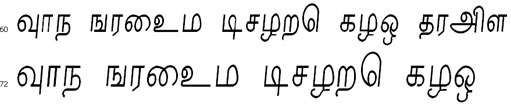 Nalini Tamil Font