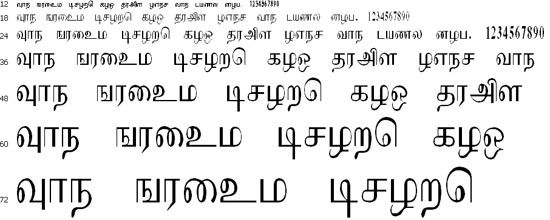 Makarandham Tamil Font