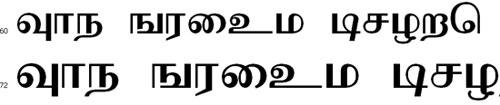 Moderntamil Tamil Font