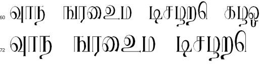 RRavi Tamil Font