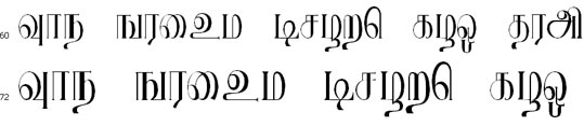 Ranjani Bangla Font