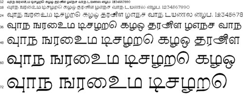 Rasigapria PC Tamil Font