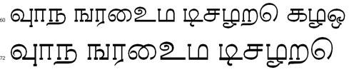 Rasigapria Plain Tamil Font