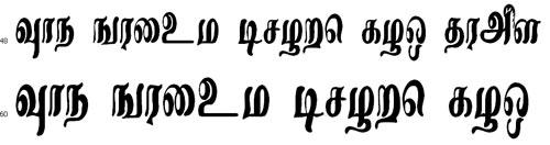 RojaACI Tamil Font