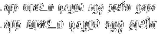 Rosa Tamil Font