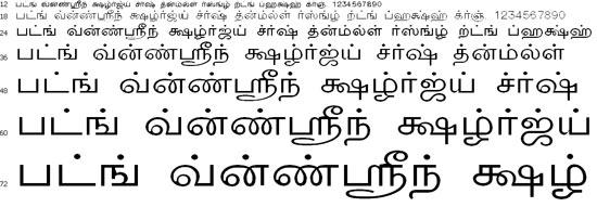 TMNews Tamil Font