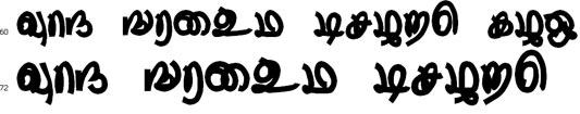 Thurikai Bangla Font