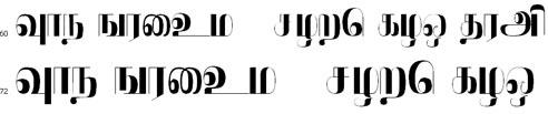 Sagarabaranam Tamil Font