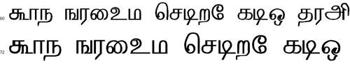 Sathayam Tamil Font