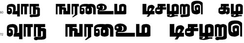 Seliyan Tamil Font