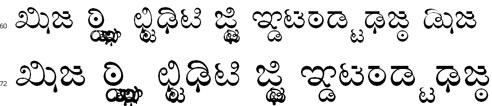 Singalam Tamil Font