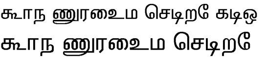 Tirunelv Tamil Font