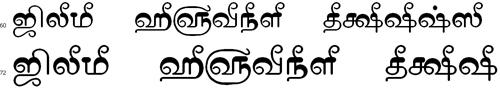 Tam Shakti 13 Bangla Font