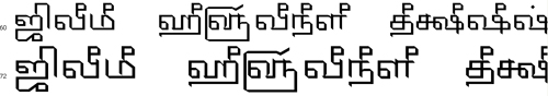 Tam Shakti 20 Tamil Font