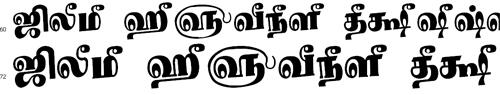 Tam Shakti 24 Bangla Font