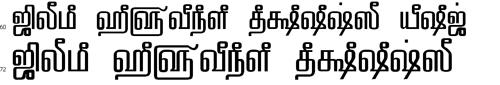 Tam Shakti 33 Tamil Font