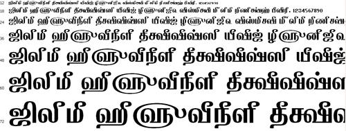 Tam Appar Tamil Font