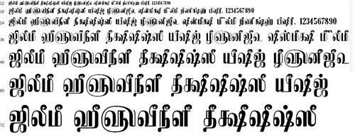 Tam Kamban Tamil Font