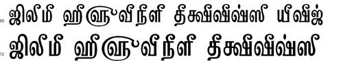 Tam Kannadasan Tamil Font