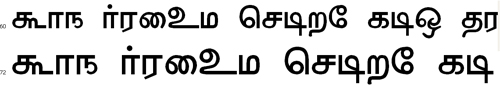 Anangu Valluvar Bangla Font