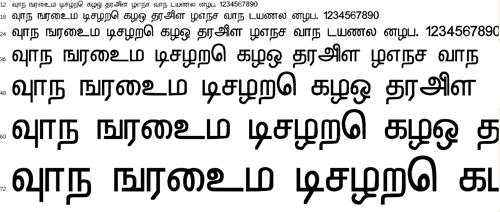 Denisha Tamil Font