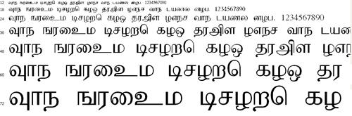 Kushpoo Tamil Font