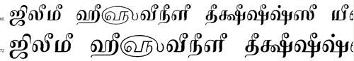 Tam Shakti 10 Tamil Font