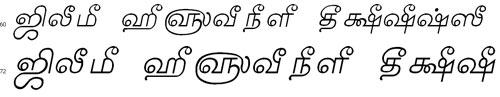 Tam Shakti 17 Bangla Font