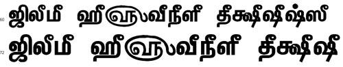 Tam Shakti 34 Tamil Font